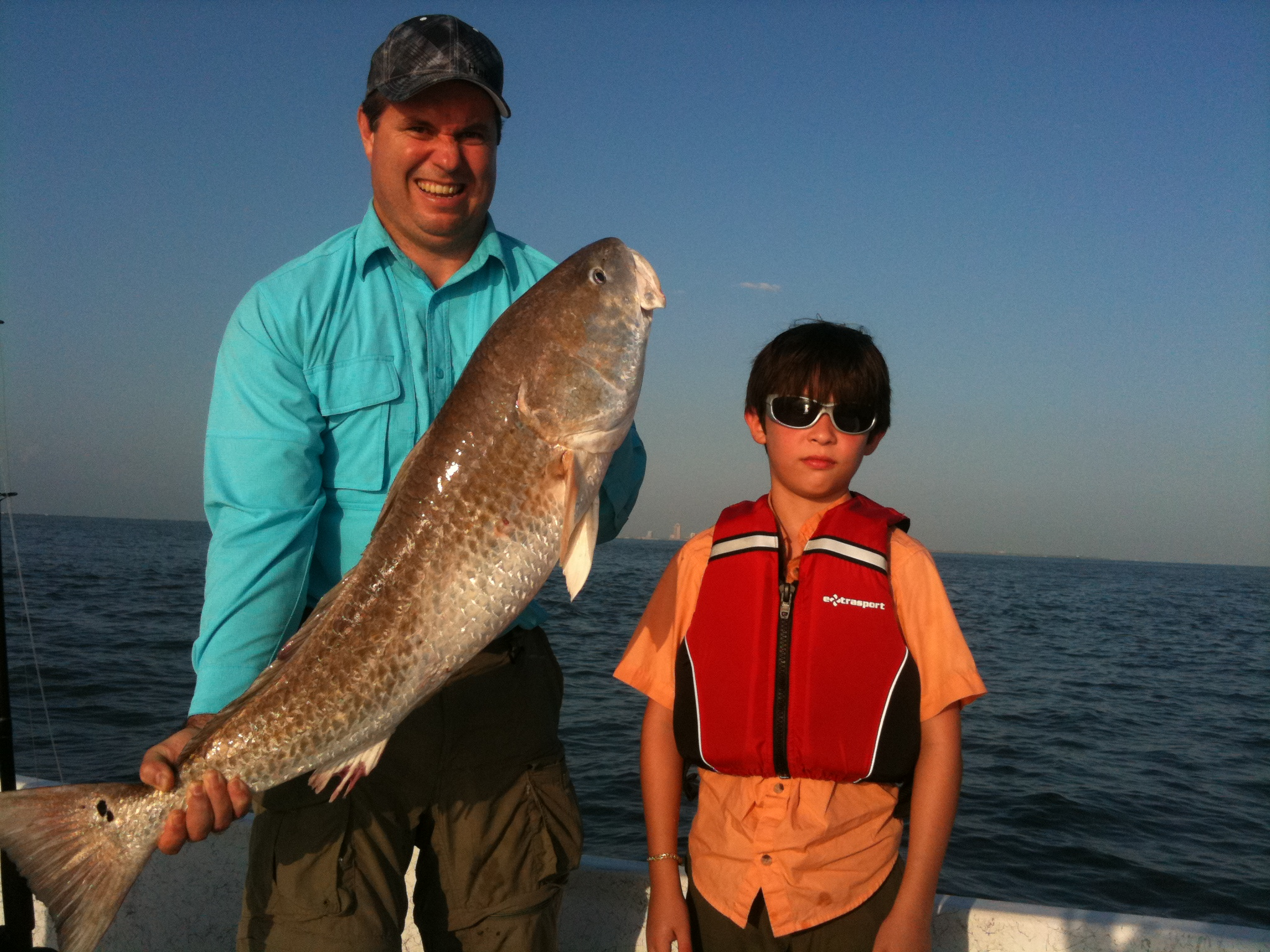 Guided fishing trips galveston texas offshore fishing for Fishing license in texas
